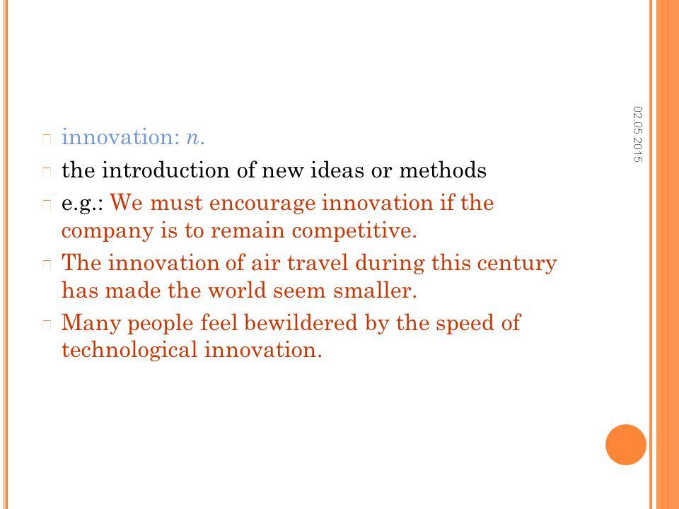 02.05.2015 innovation: n.