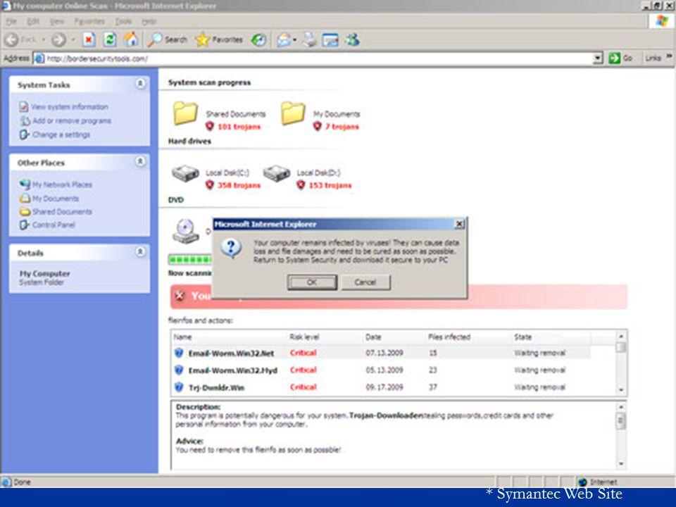* Symantec Web Site