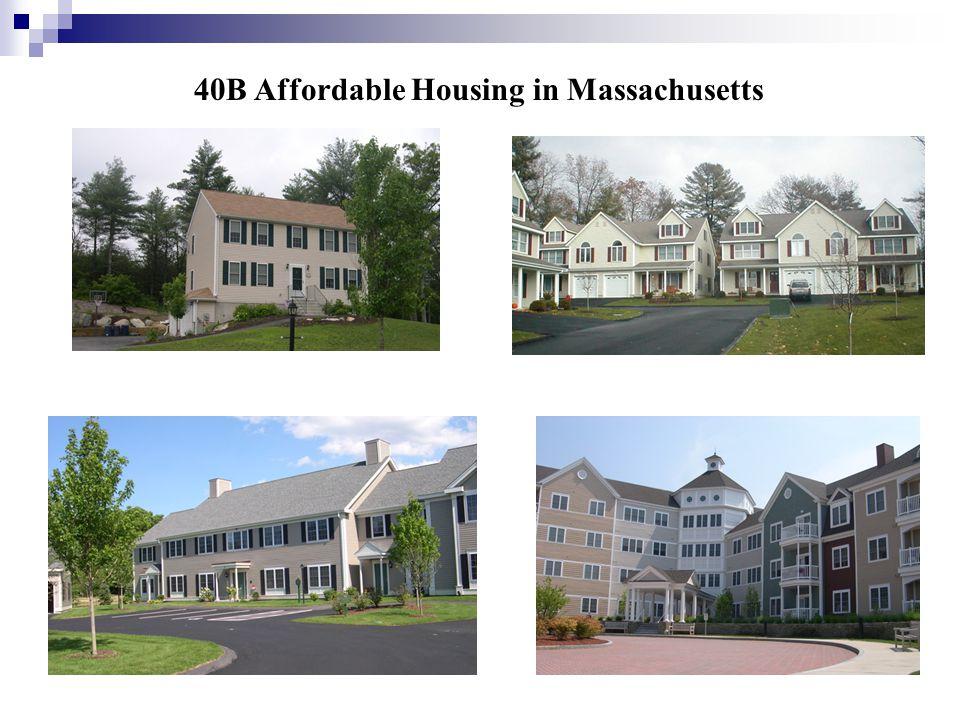 40B Affordable Housing in Massachusetts
