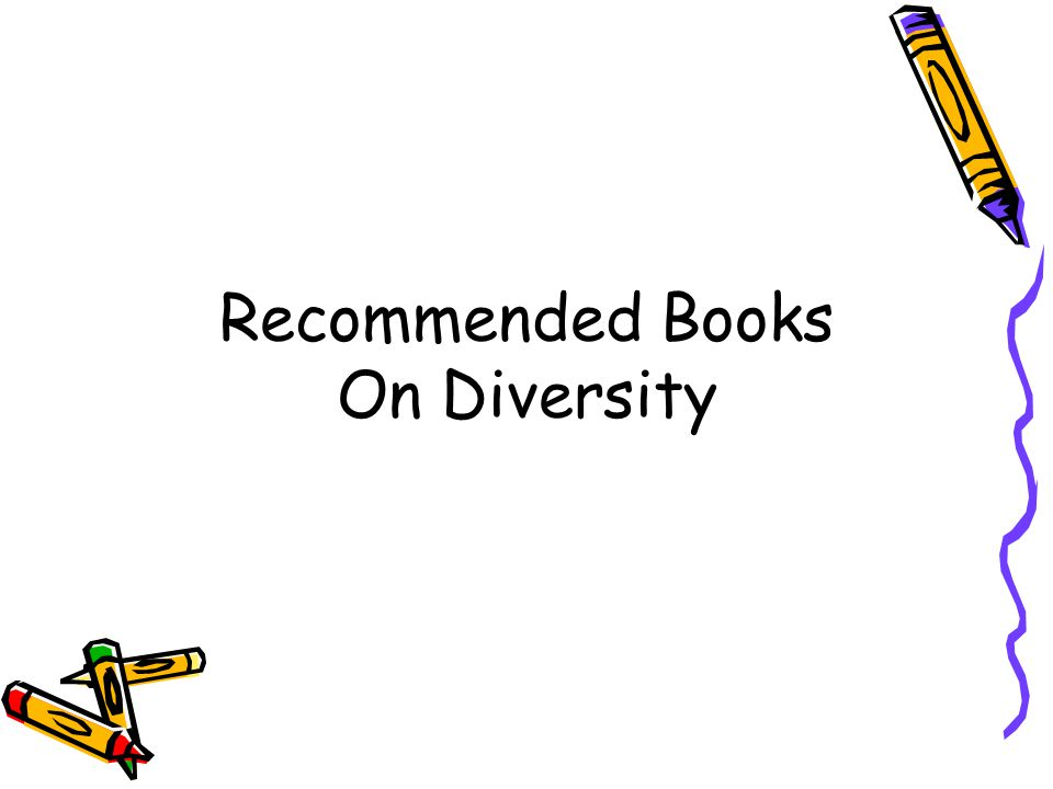 Recommended Books On Diversity