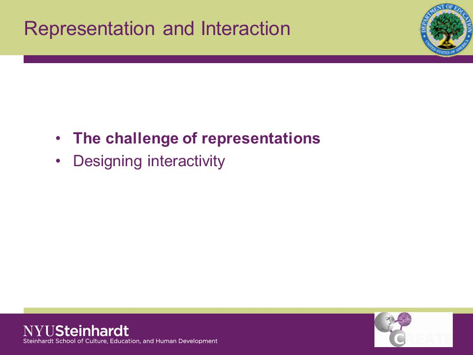 The Challenge of Representations Beginning science learners versus experts Value of models