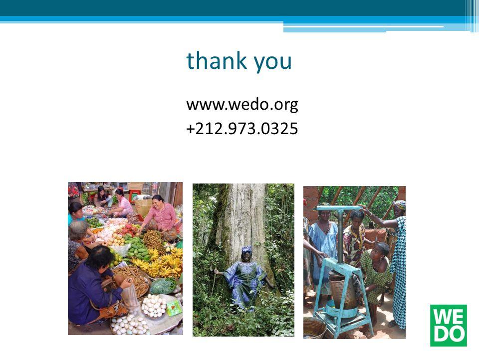 thank you www.wedo.org +212.973.0325