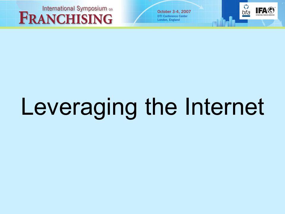 Leveraging the Internet