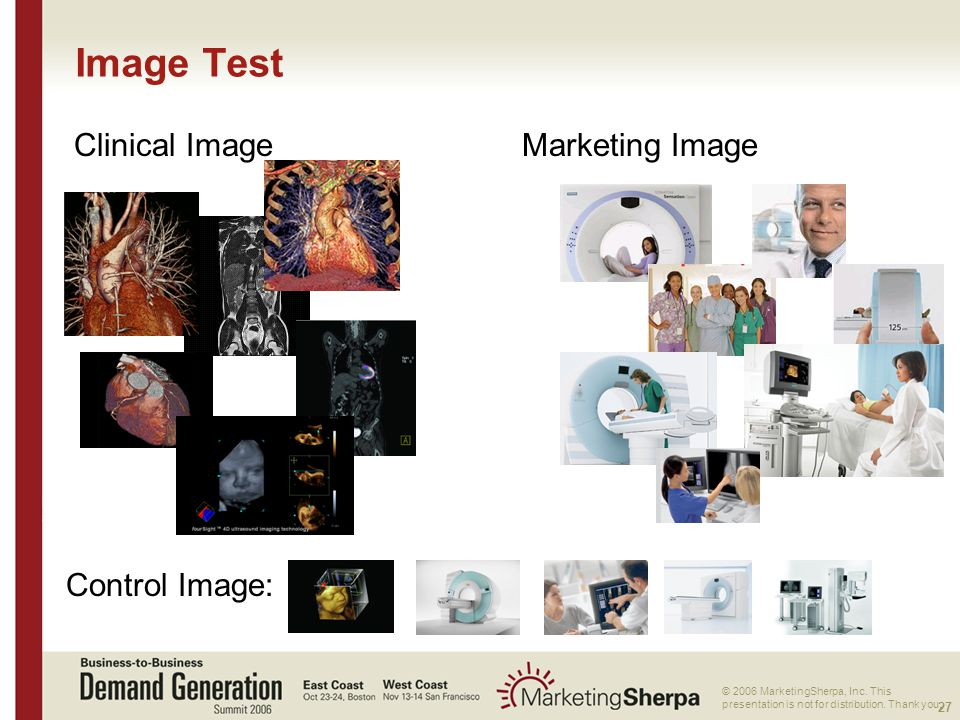 27 More data on this topic available from:: © 2006 MarketingSherpa, Inc.
