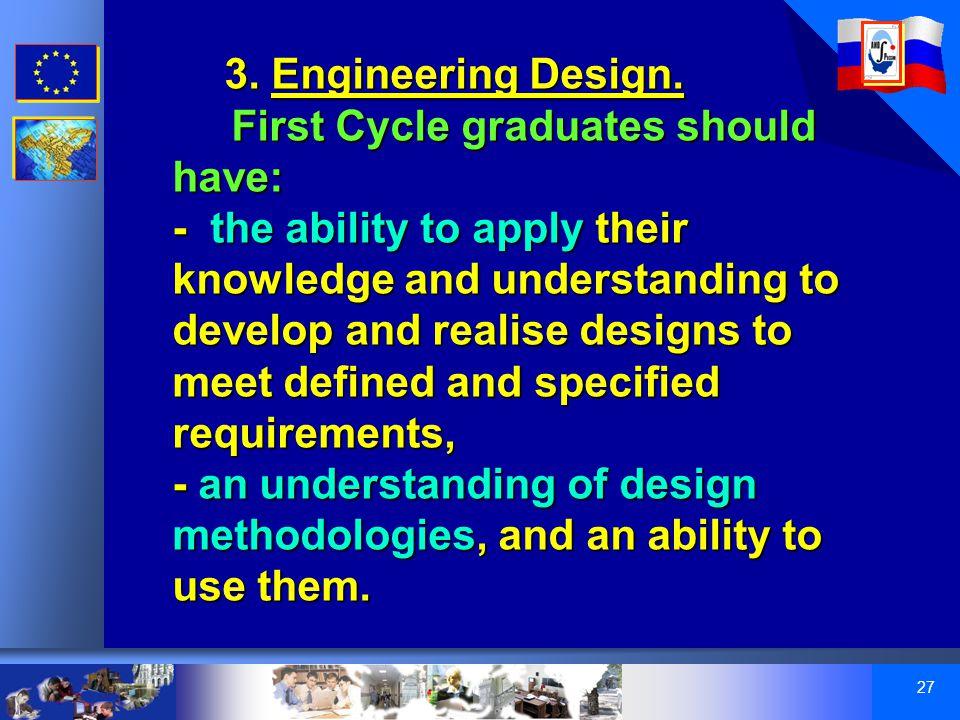 27 3. Engineering Design.