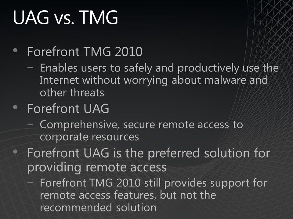 UAG vs.