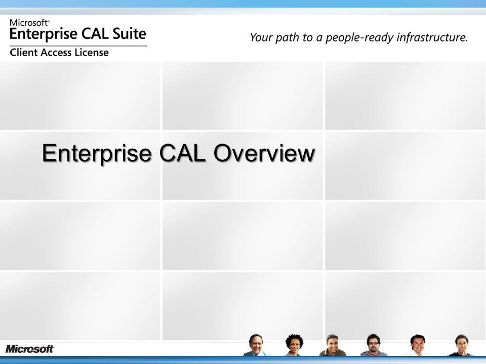 Enterprise CAL Overview