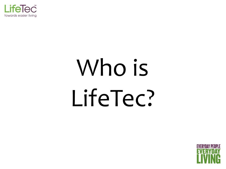 Who is LifeTec