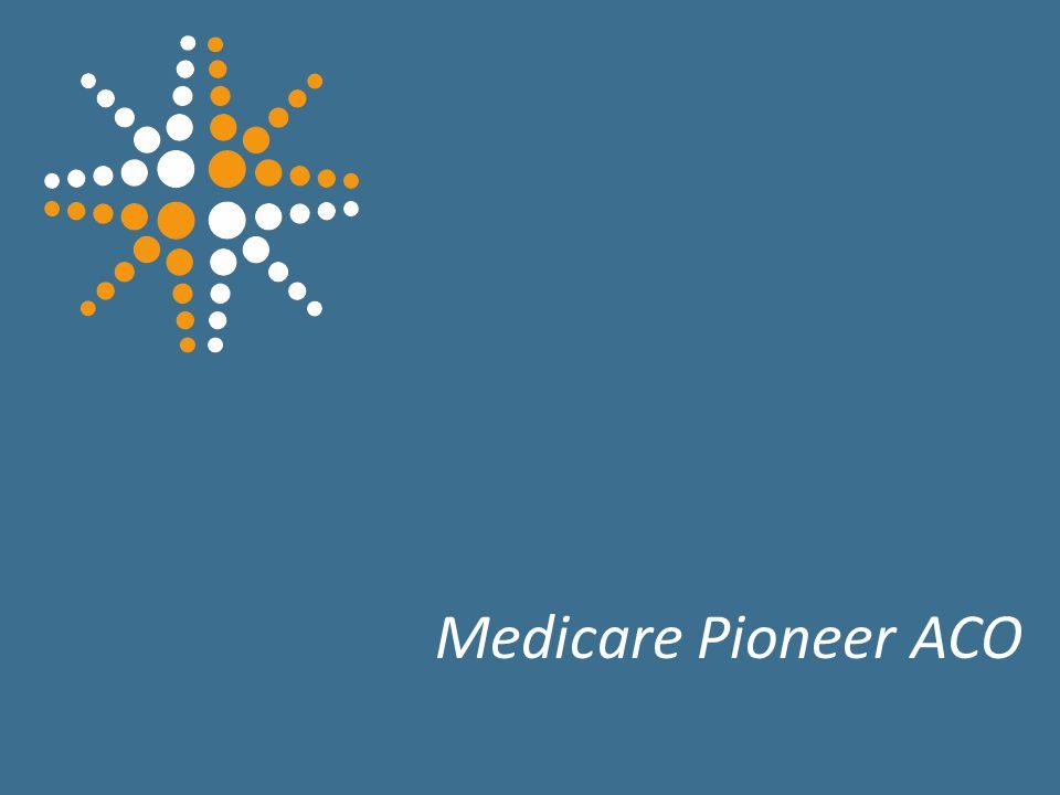 27 Medicare Pioneer ACO