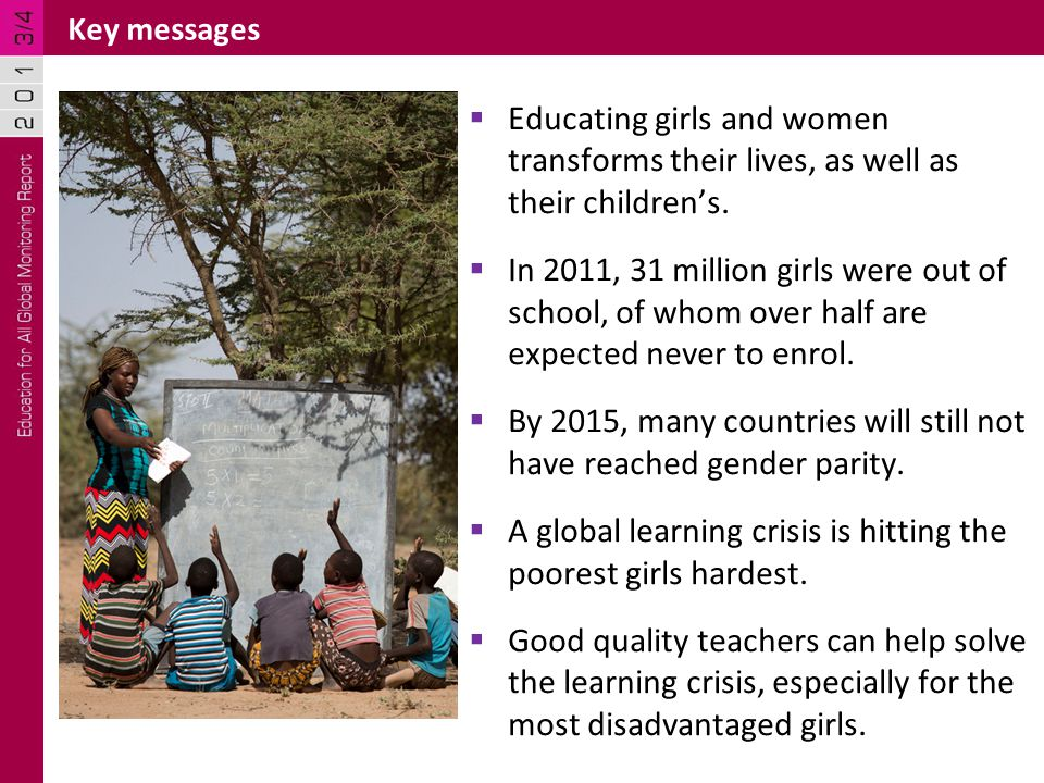 Education reduces maternal deaths In sub-Saharan Africa