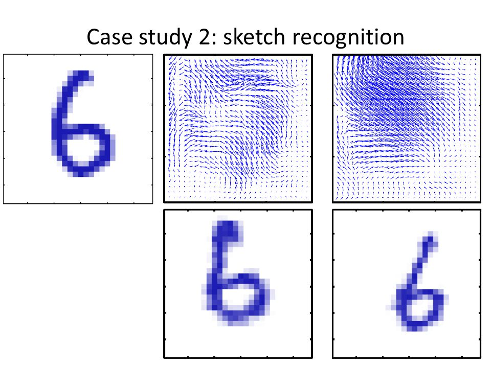 Case study 2: sketch recognition 44