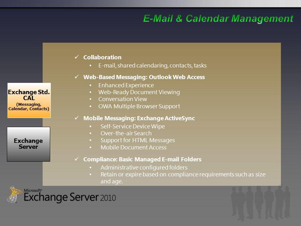 Exchange Server Exchange Std.