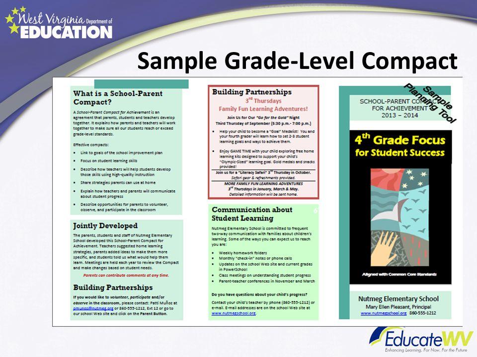 Sample Grade-Level Compact