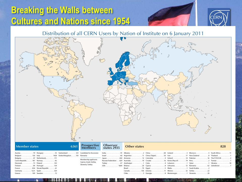 Breaking the Walls between Cultures and Nations since 1954 Breaking the Walls between Cultures and Nations since 1954