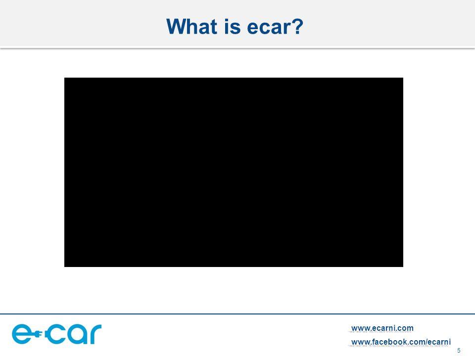 5 www.ecarni.comwww.facebook.com/ecarni What is ecar?