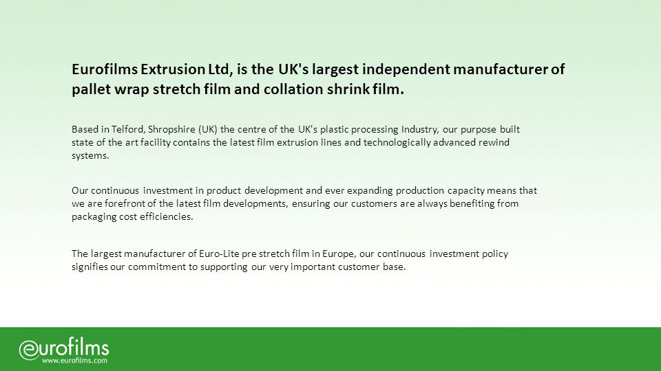 UK manufacturer