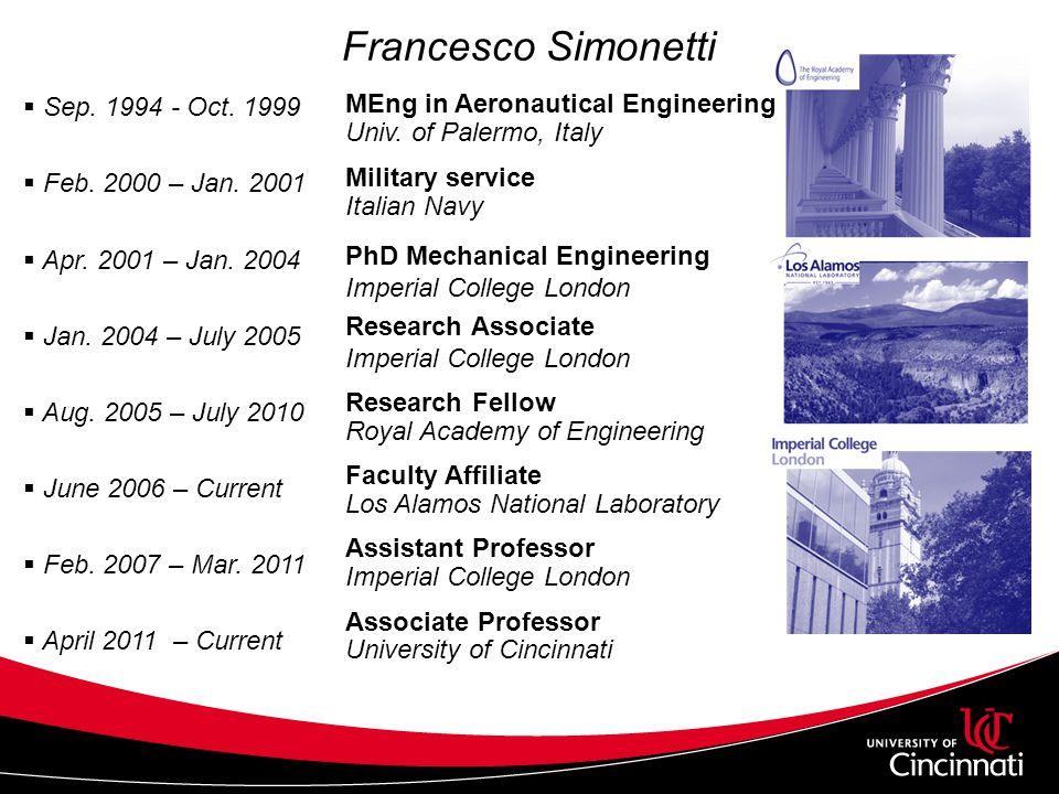  Sep. 1994 - Oct. 1999  Feb. 2000 – Jan. 2001  Apr.