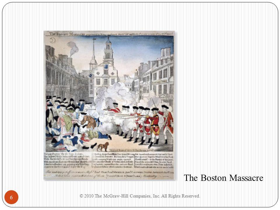 6 The Boston Massacre