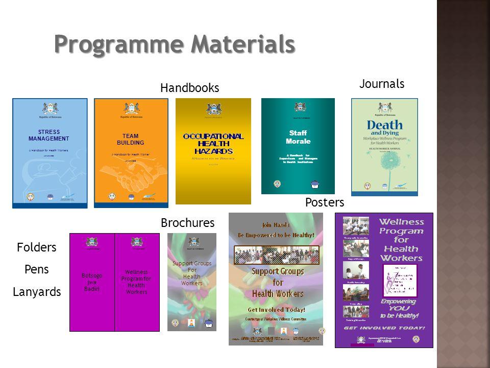 Programme Materials STRESS MANAGEMENT A Handbook for Health Workers STRESS MANAGEMENT A Handbook for Health Workers STRESS MANAGEMENT A Handbook for H