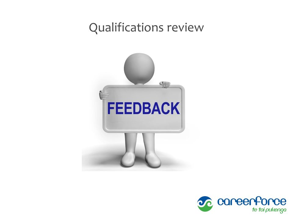 Qualifications review
