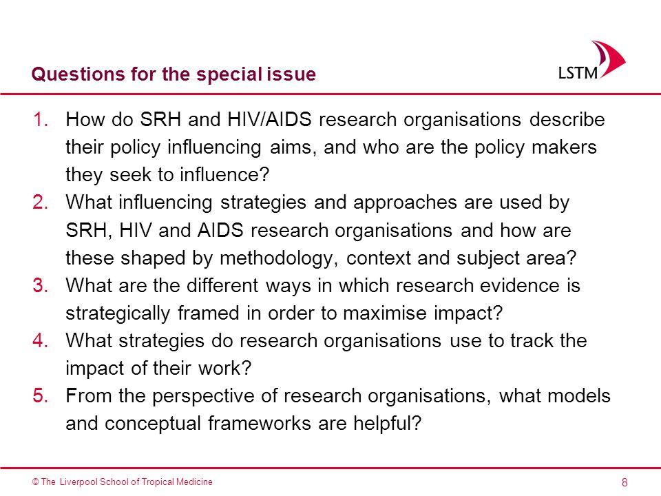 29 © The Liverpool School of Tropical Medicine Questions?