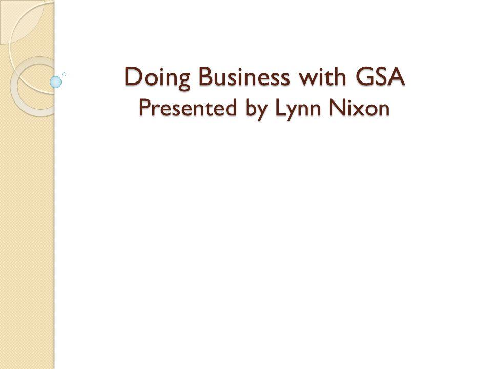 Thank You Lynn Nixon General Services Administration Phoenix Field Office 401 W.