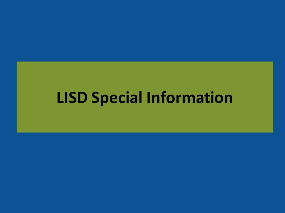 LISD Special Information