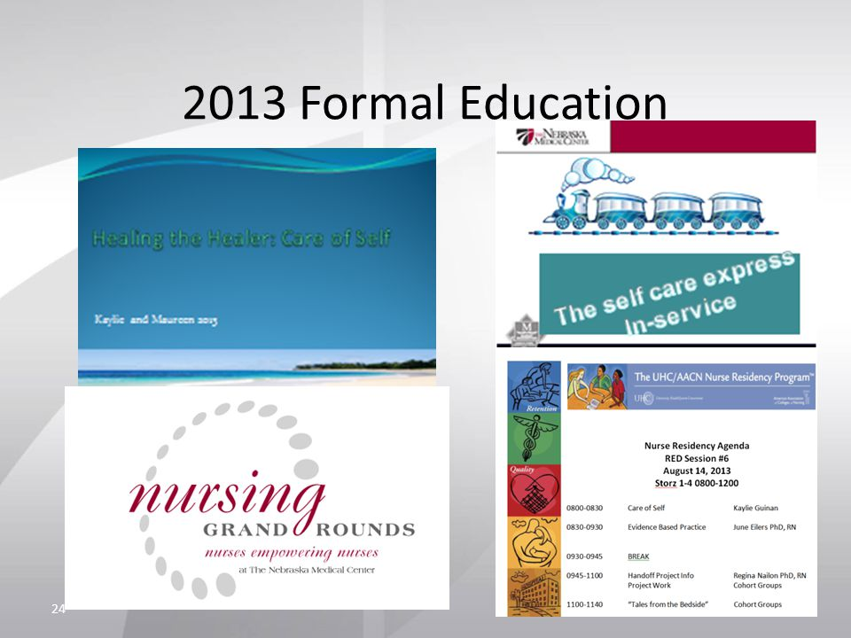 2013 Formal Education 24