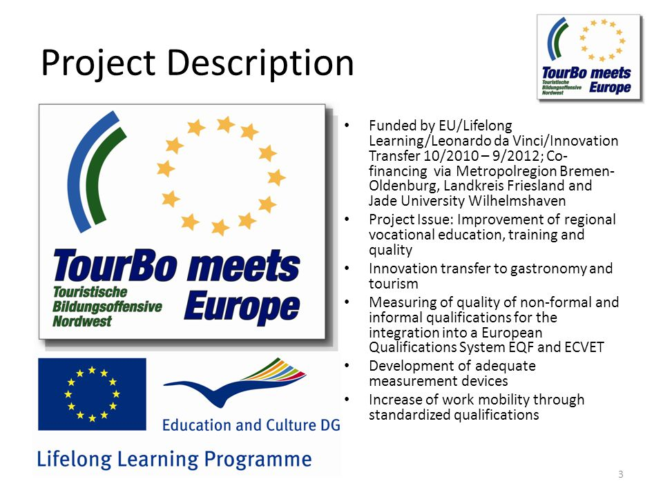Upcoming Events In: The Development of ECVET in Europe.