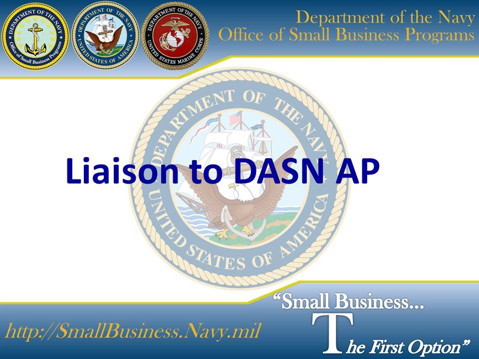 Liaison to DASN AP
