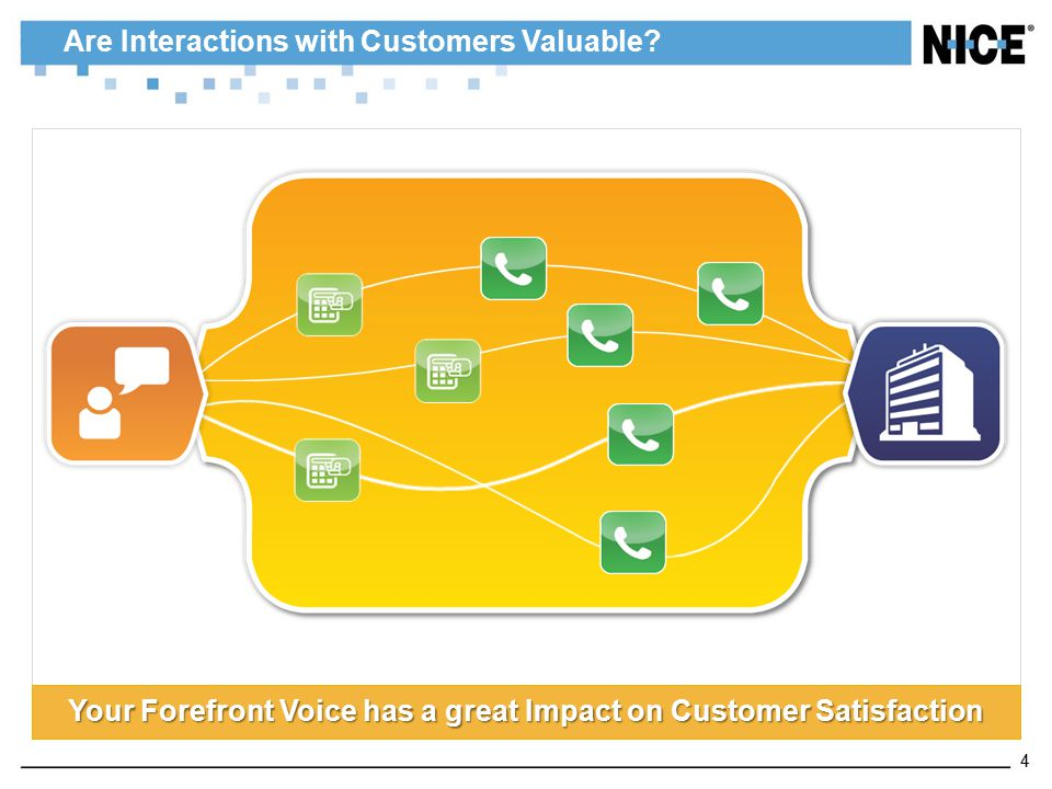 Are Interactions with Customers Valuable? Your Forefront Voice has a great Impact on Customer Satisfaction 4