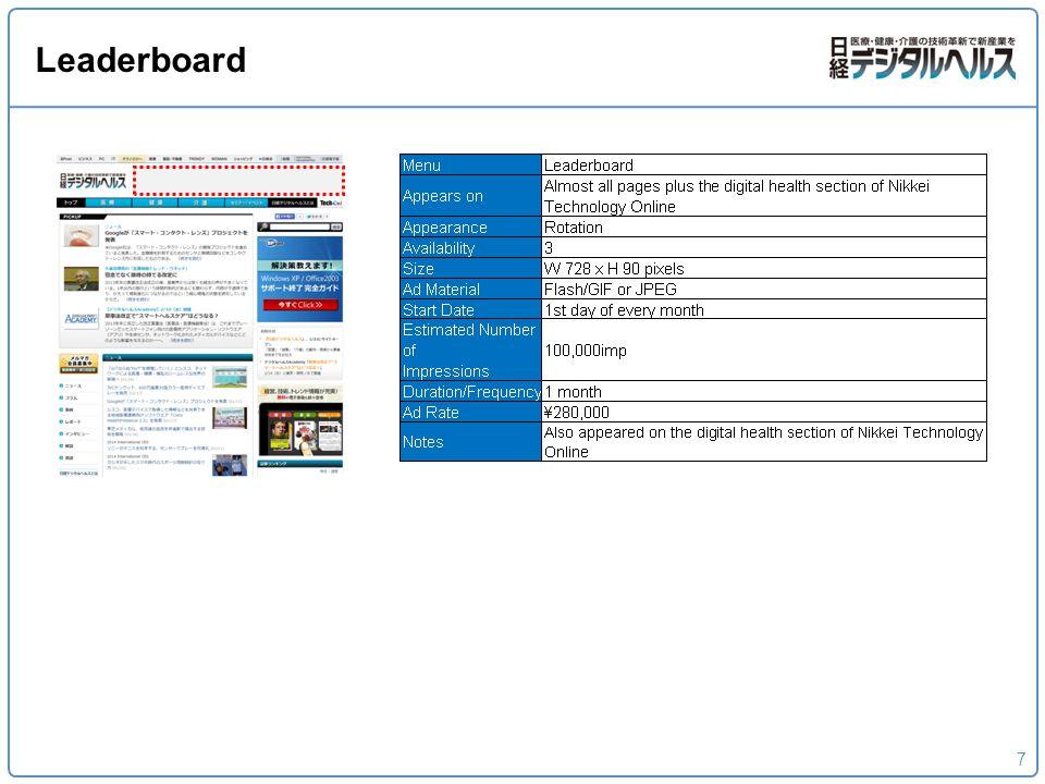 7 Leaderboard