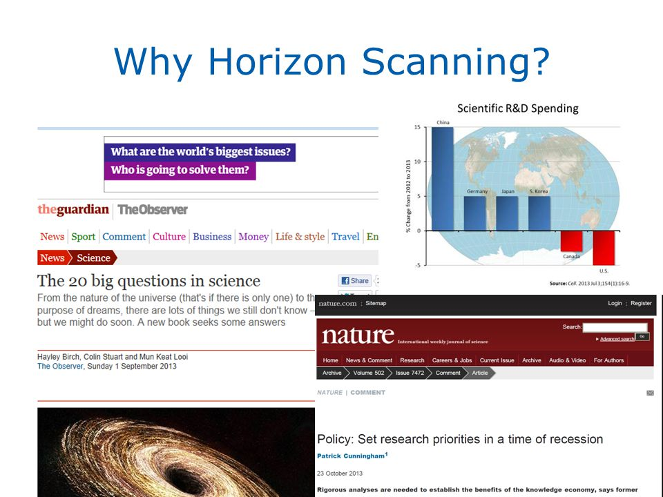Why Horizon Scanning