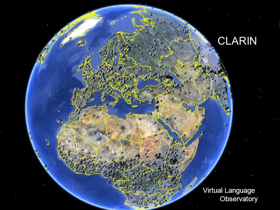 RAMIRI2 Amsterdam 2011 CLARIN Virtual Language Observatory