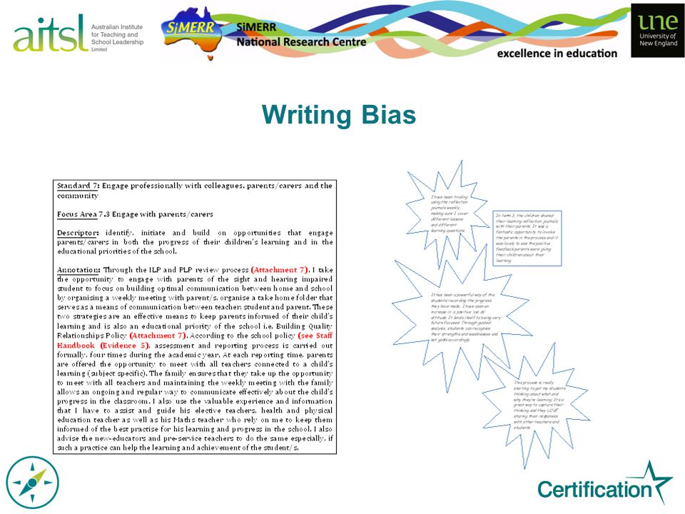 Writing Bias