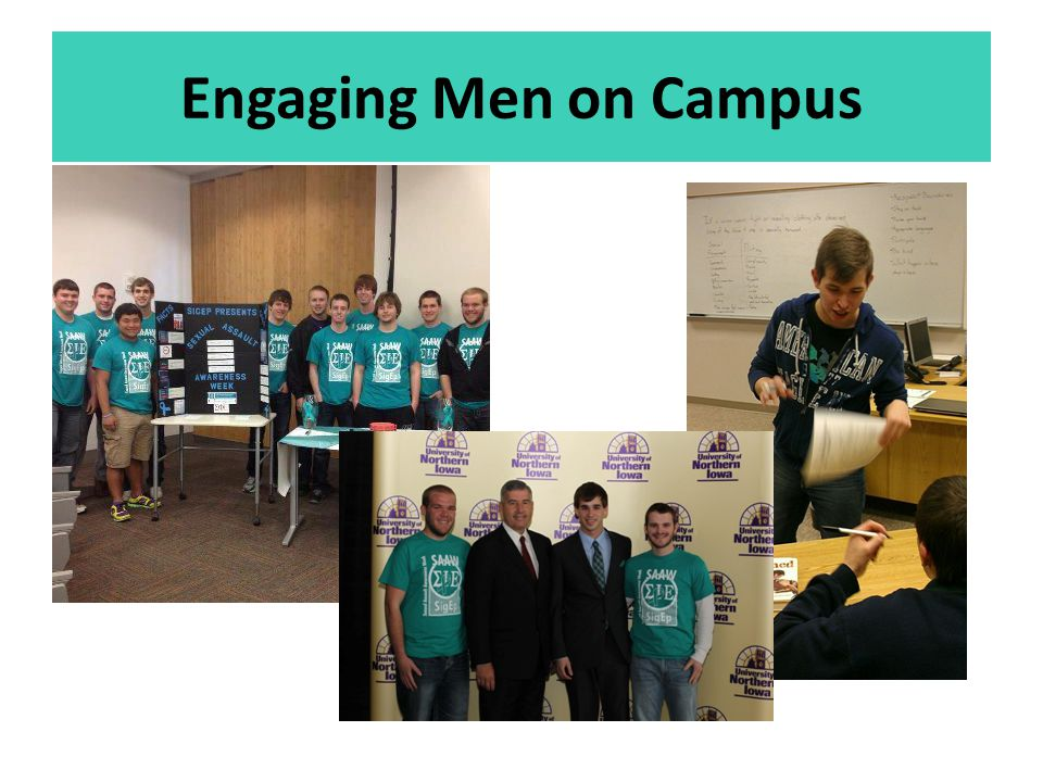 Engaging Men on Campus