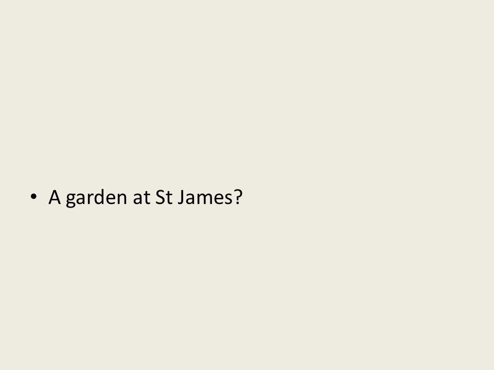 A garden at St James