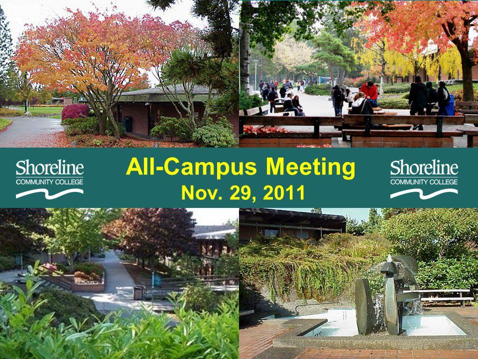 All-Campus Meeting Nov. 29, 2011