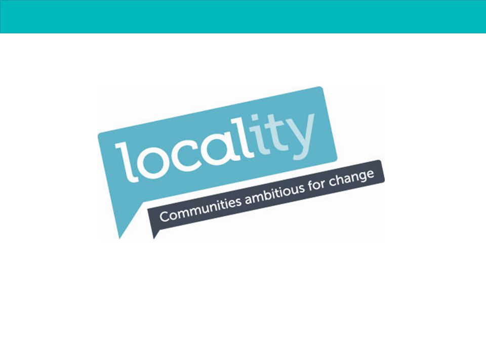 Communities ambitious for change Steve Wyler Locality