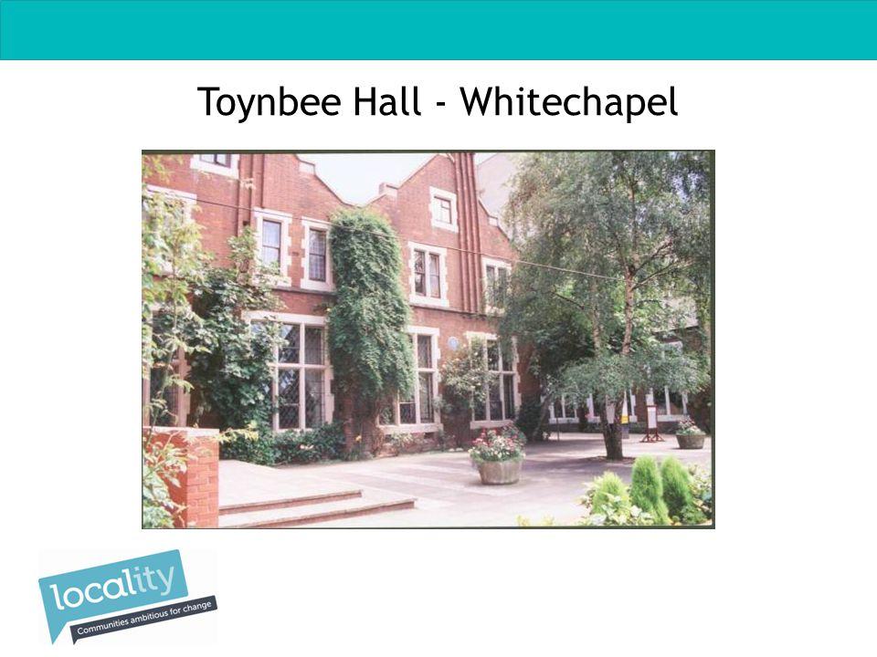 Toynbee Hall - Whitechapel