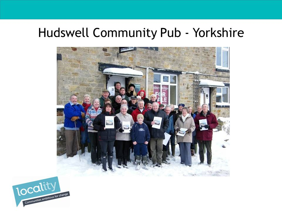 Hudswell Community Pub - Yorkshire