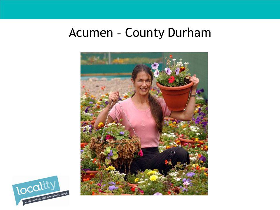 Acumen – County Durham