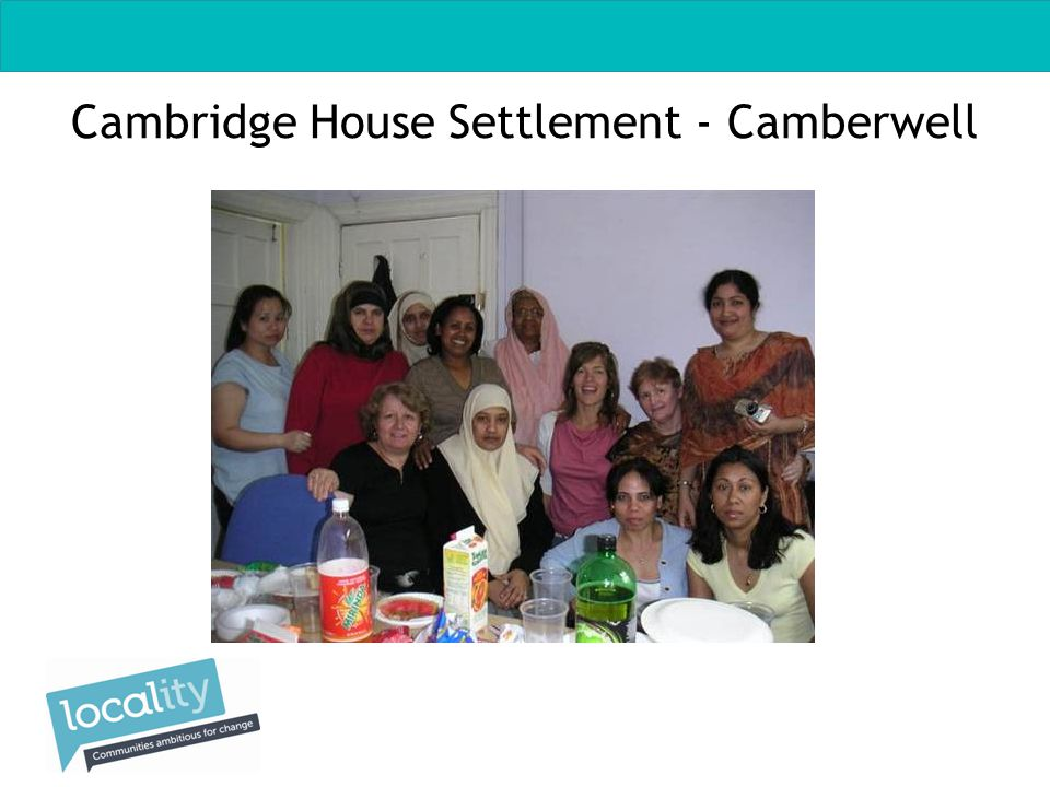 Cambridge House Settlement - Camberwell