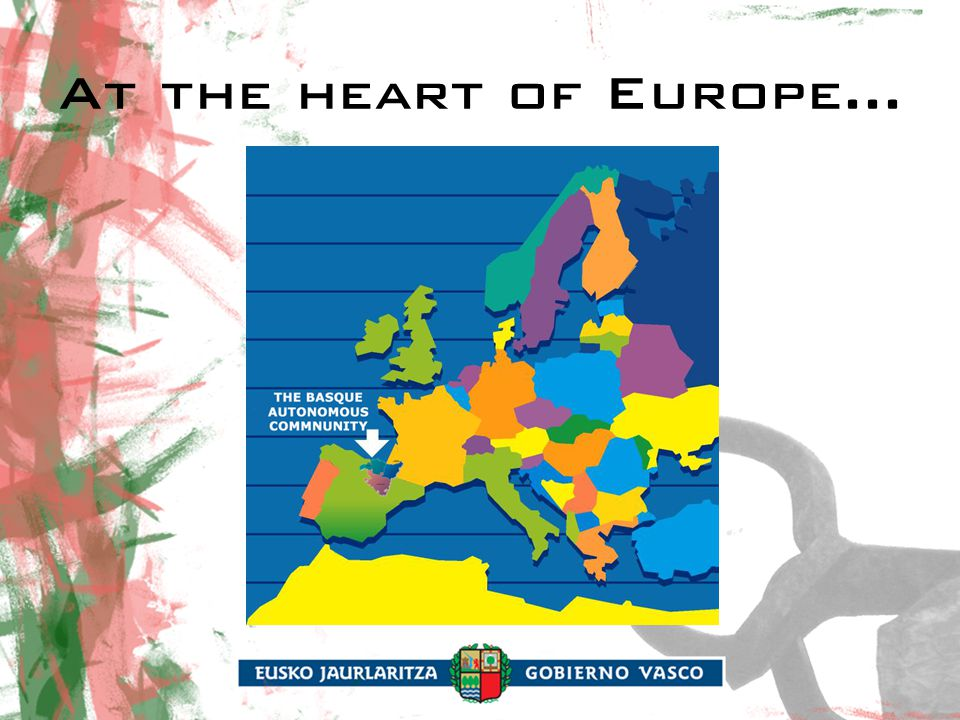 At the heart of Europe...