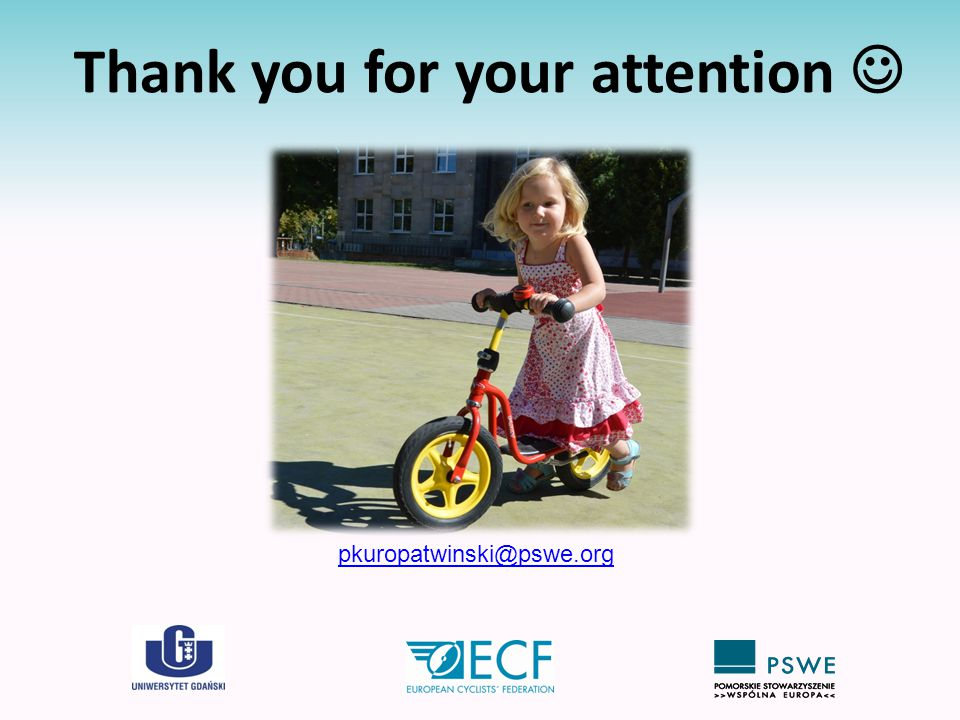 Thank you for your attention pkuropatwinski@pswe.org