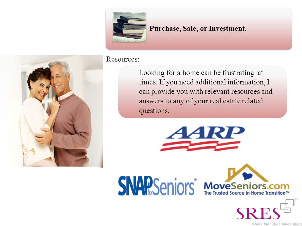 Purchase, Sale, or Investment. Looking for a home can be frustrating at times.