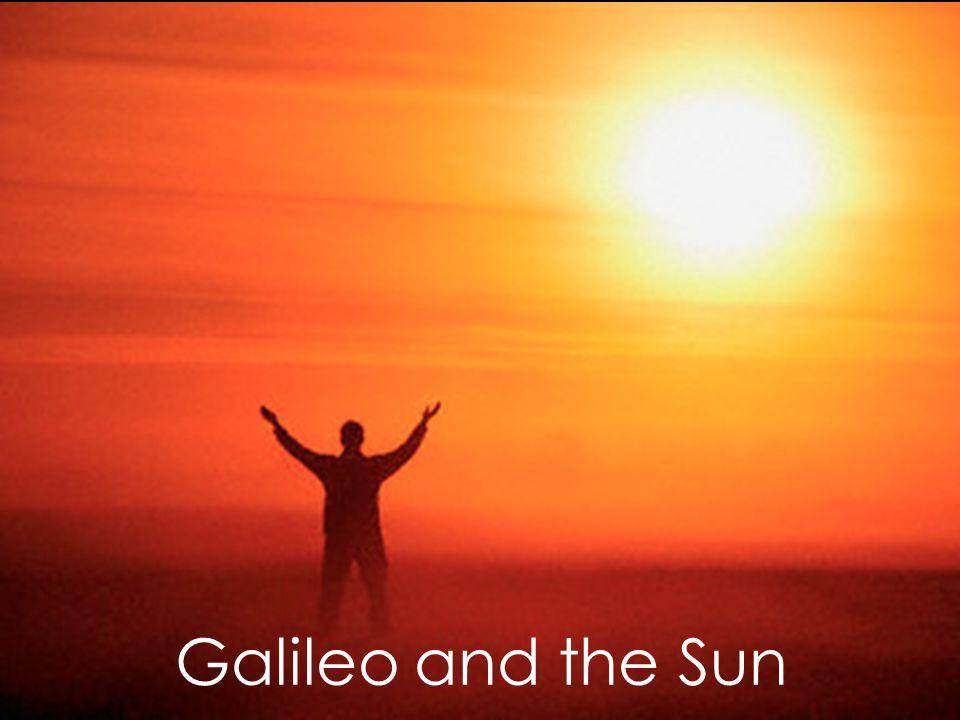 Galileo and the Sun