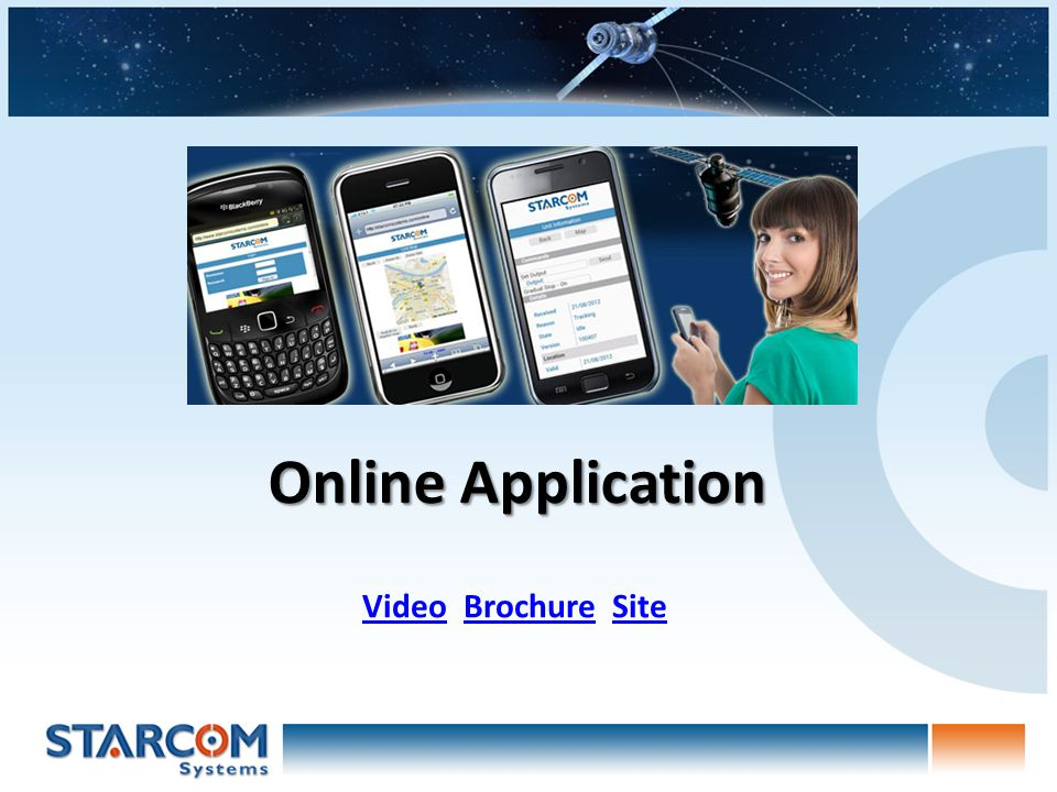 Online Application VideoVideo Brochure SiteBrochureSite