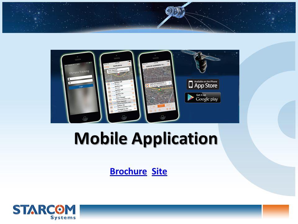 Mobile Application BrochureBrochure SiteSite