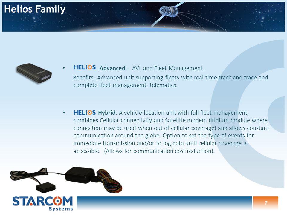 Advanced - AVL and Fleet Management.